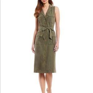 Antonio Melani NWT utility button front dress